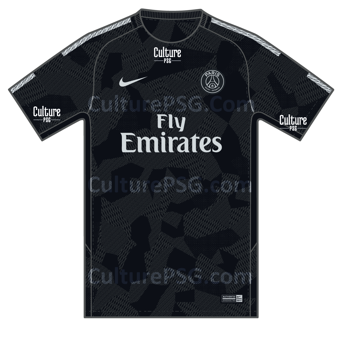 psg community psg a se pr cise pour le maillot third 2017 2018 psg community. Black Bedroom Furniture Sets. Home Design Ideas