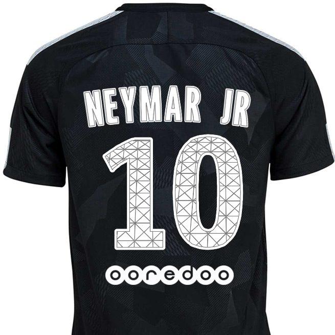 maillot psg neymar 2017-2018