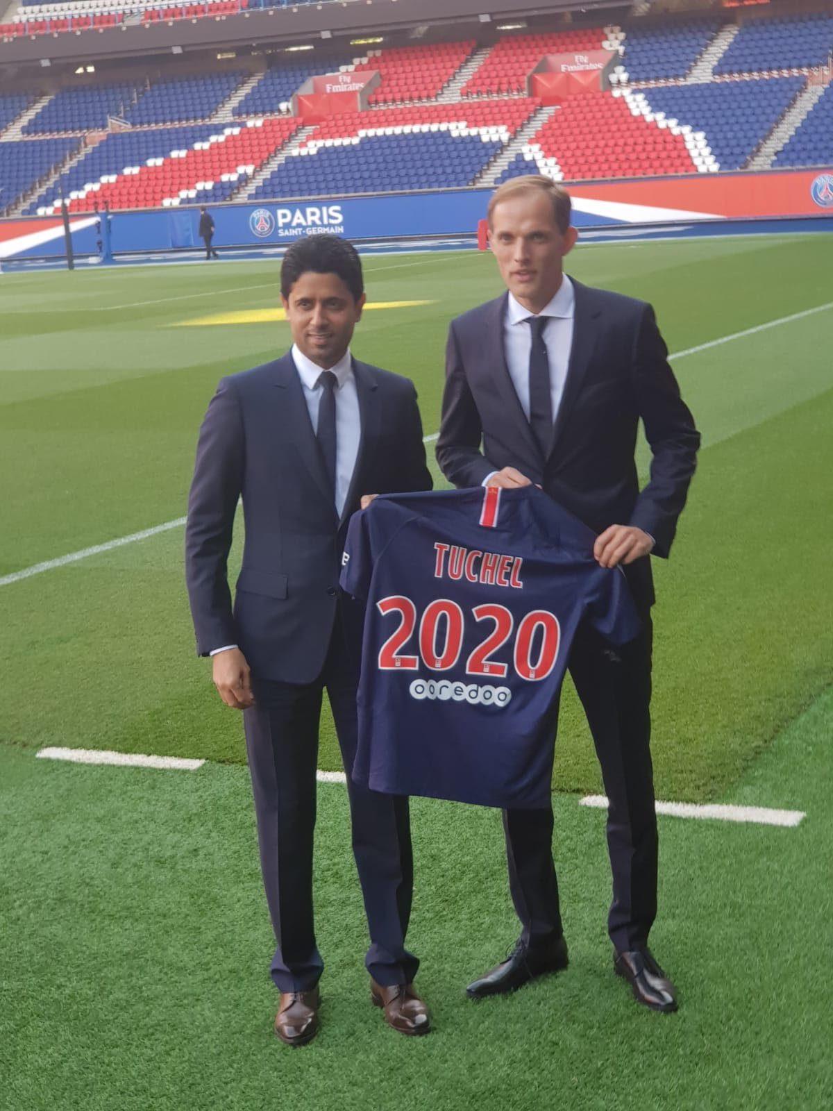 Thomas Tuchel est au PSG pour les deux prochaines saisons