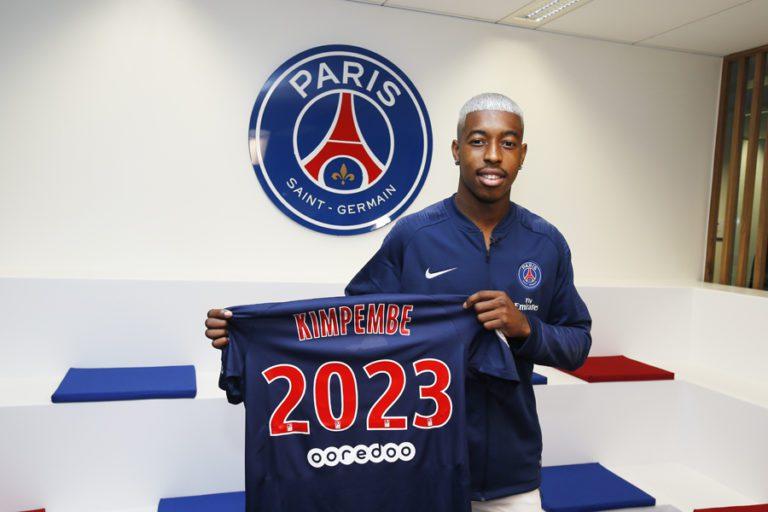 Presnel Kimpembe poursuit son aventure avec le PSG, son club de coeur