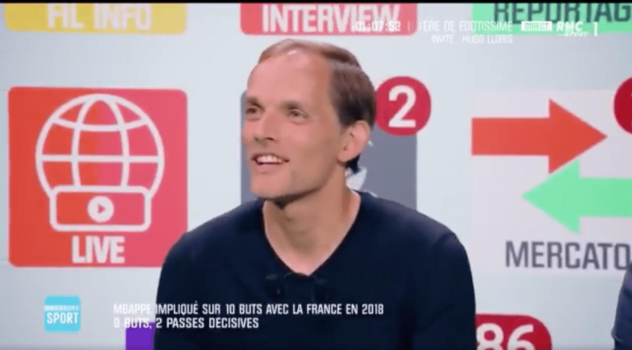 Thomas Tuchel, entraîneur du PSG