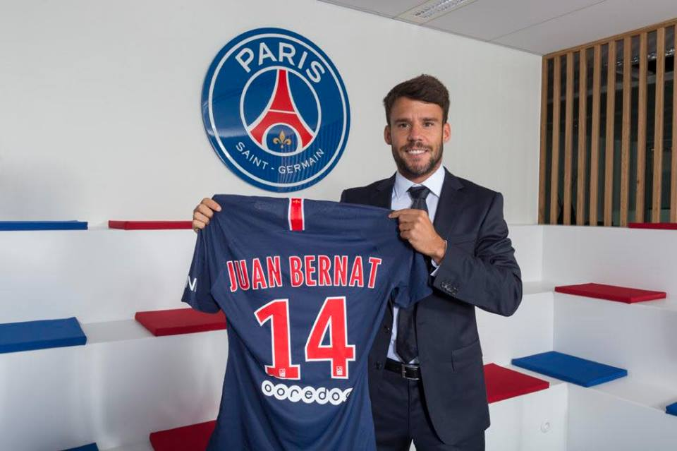 Juan Bernat s'est entraîné avec le PSG