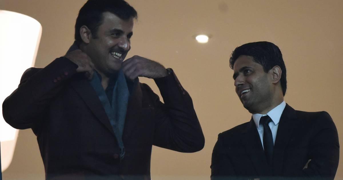 Nasser Al-Khelaifi et Al-Thani au PSG