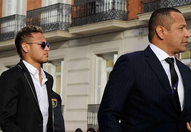 neymar père négocie avec le PSG