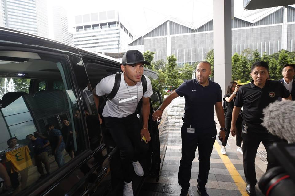 thiago silva a repris le chemin de l'entraînement avec le PSG à Singapour