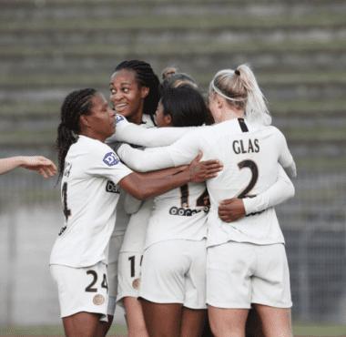 Les féminines du PSG se sont qualifiées en coupe de france