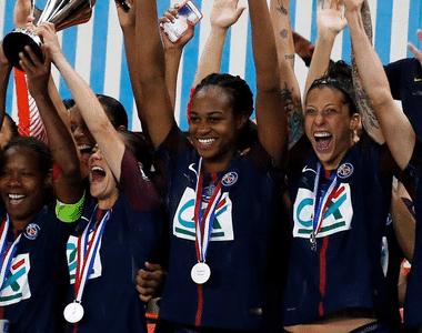 Les féminines du PSG joueront les quarts de finale de la Coupe de France