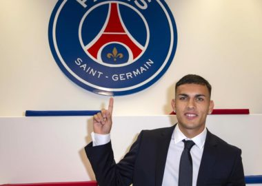 leandro paredes est officiellement un joueur du PSG