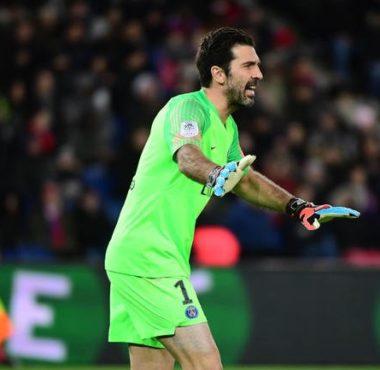 gianluigi buffon, gardien de buts du PSG