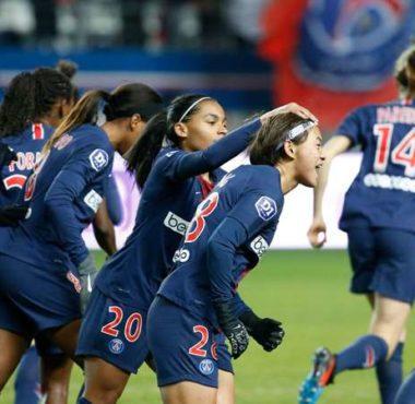 Le PSG féminines prend la tête du championnat