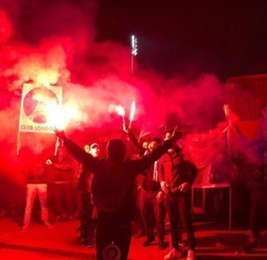 Le PSG fans club Londres était présent