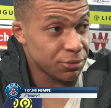 Kylian Mbappé analyse la défaite contre Lille