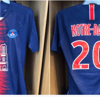 Le PSG a vendu un maillot spécial notre-dame