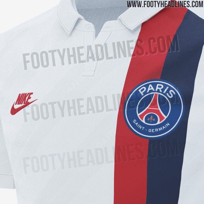Le maillot third PSG 2019-2020 a fuité